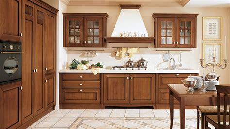 le pareti in legno o cucine classiche roma