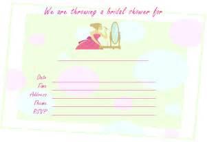 printable wedding shower invitations free printable bridal shower invitations for spa showers