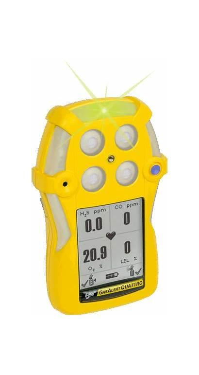 Honeywell Analytics Bw Gas Detector Quattro Alert