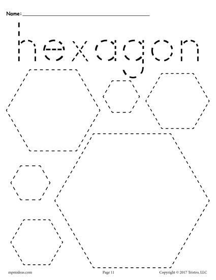 shapes tracing worksheets shape tracing worksheets