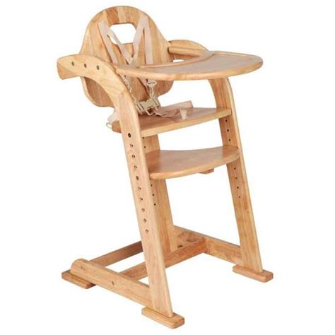 chaise haute sans tablette 9 best highchairs images on wood high chairs