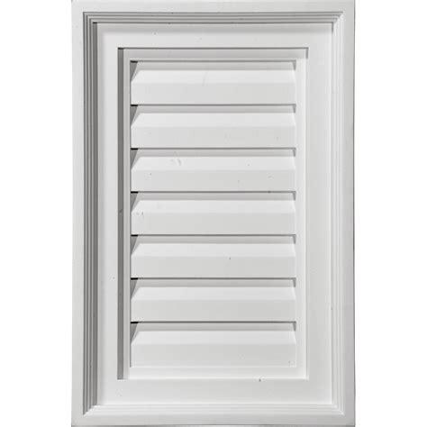decorative gable vent covers 12 quot w x 18 quot h vertical gable vent louver decorative