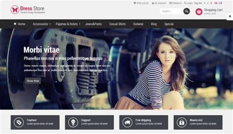 The Best Premium Mateial Website Templates by Best Premium Opencart Templates Themes Zerotheme