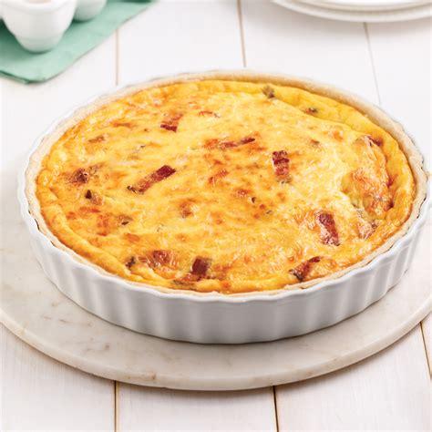 cuisine quiche lorraine quiche lorraine au bacon recettes cuisine et nutrition