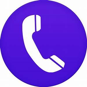 Phone Icon | Circle Iconset | Martz90