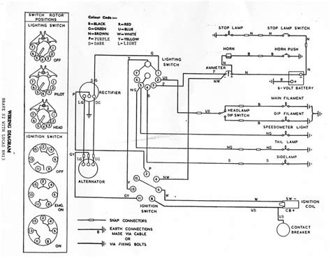 royal enfield bullet 350 wiring diagram 39 wiring