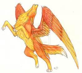 Wolf Beautiful Phoenix Drawings