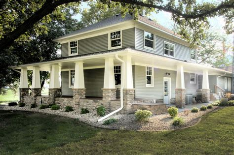 remodeling farm houses two story exterior remodel 1120 farmhouse exterior other metro by nordaas american homes