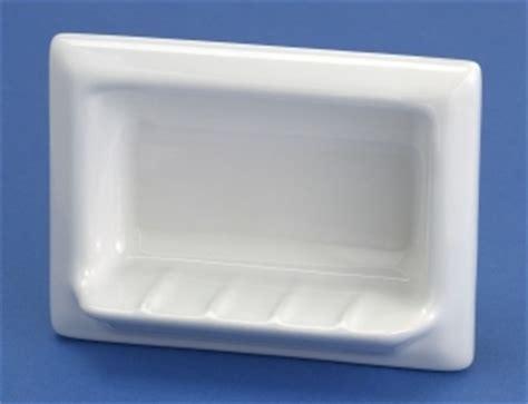 recessed lenape porcelain soap holder   Retro Renovation