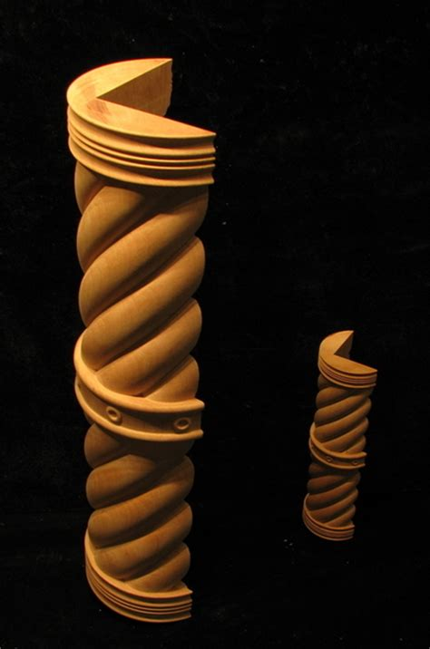 spiral  column set columns legs newel posts