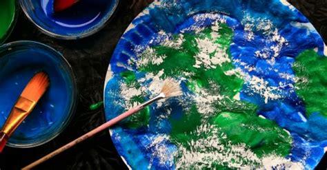 ingredient puffy paint earth day craft  kids
