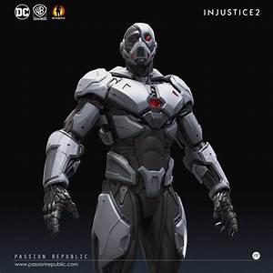 Min Kian - INJUSTICE 2 - Cyborg Gear