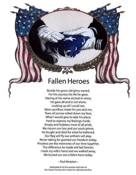 Fallen Military Hero Quotes Quotesgram