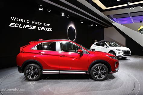mitsubishi eclipse 2018 mitsubishi eclipse cross looks even better up close