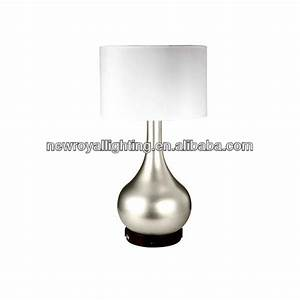 Table lamp with outlet lighting and ceiling fans