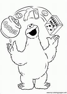 Coloring Pages Of Cookie Monster - Coloring Home