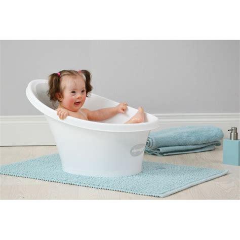 foam baby bath tub shnuggle baby bath with foam back rest grey kiddies kingdom