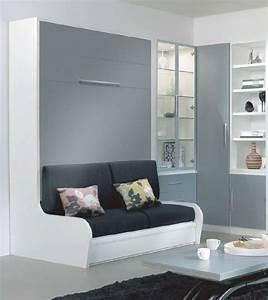 Lit Escamotable Armoire : armoire lit escamotable campus jacquelin autoporteur avec ~ Premium-room.com Idées de Décoration