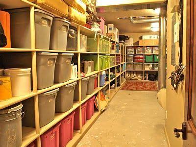 25 best ideas about basement storage on