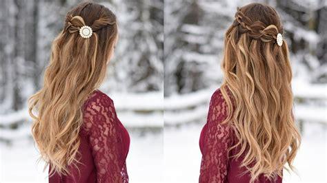 strand waterfall   hairstyle cute girls