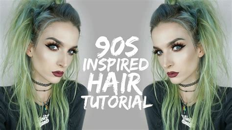 90s Inspired Twisty Hair Tutorial