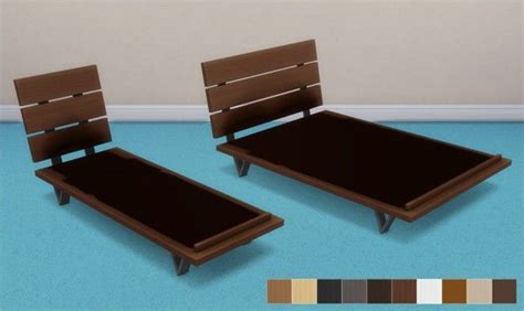 Futon Bed Frames by Veranka Futon Bed Frames And Mattresses Sims 4