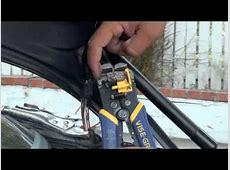 BMW Trunk latch problem YouTube
