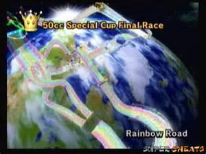 Mario Kart Wii Rainbow Road