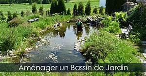 construire bassin exterieur etang ou jardin d39eau plans With idee pour amenager son jardin 4 construire bassin exterieur etang ou jardin deau plans
