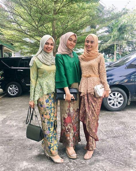 model kebaya batik modern inspirasi wanita terbaru