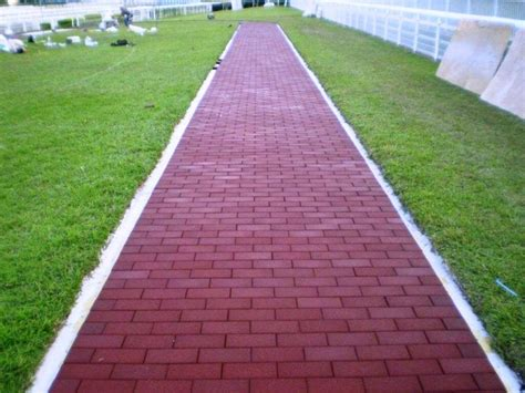 lowes patio pavers recycled rubber pavers comfort in places of worship