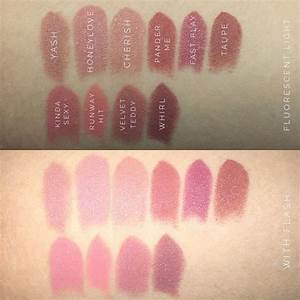 MAC Cosmetics lipsticks (L-R): TOP: Yash (matte ...