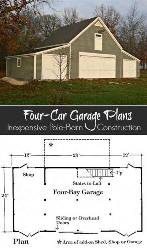 bay car barn plans  lofts   sets  etsy garage plans  loft