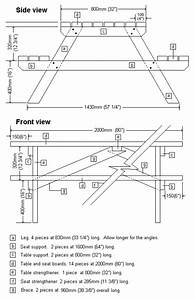 Traditional picnic table project page 3