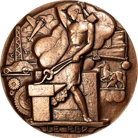 le comptoire des monnaies 87669 m 233 daille monnaie de le fer fdc commerce