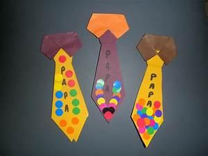 Bricolage Fête Des Pères Maternelle : marque page cravate ~ Melissatoandfro.com Idées de Décoration
