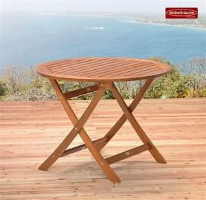 Tisch Klappbar Holz : gartentisch 100 cm rund klappbar rund holztisch tisch klapptisch rundtisch holz ebay ~ Orissabook.com Haus und Dekorationen