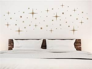 Sternenhimmel Fürs Schlafzimmer : wandtattoo sternenhimmel f r die wohnung bei ~ Michelbontemps.com Haus und Dekorationen