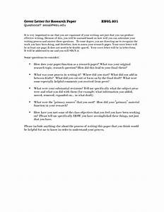 cover letter for research paper the letter sample With how to make a cover letter for a paper