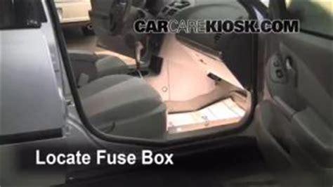 Chevy Ssr Fuse Box Location by Transmission Fluid Level Check Chevrolet Malibu 2004 2008