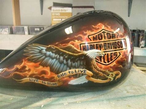 custom paint motorcycles add recessed 1000 images about tank art on pinterest custom harleys