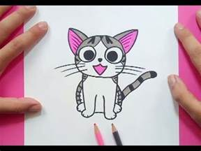 como dibujar un gato paso a paso 30 how to draw a cat 30