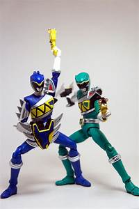 S.H. Figuarts Kyoryu Blue and Green Gallery by ...  Kyoryu