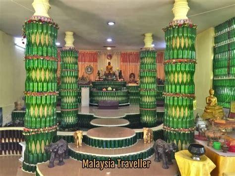 glass bottle temple melaka
