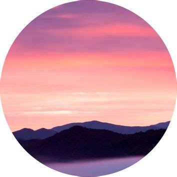 rocky mountain sunset circle wall decal from walls need