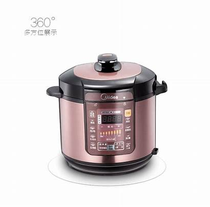 Pressure Cooker Midea Programmable Timer 5l Functional
