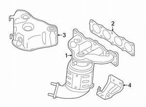Hyundai Sonata Exhaust Manifold  Exhaust Manifold With