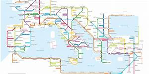 Incredible Map Shows Ancient Roman Roads As A Tube Network