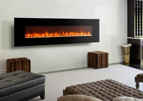 Dynasty 94inch Wall Mount Electric Fireplace Ef72p