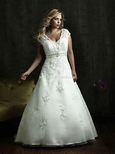 Plus size wedding dresses for different body shapes for Plus sized wedding dresses